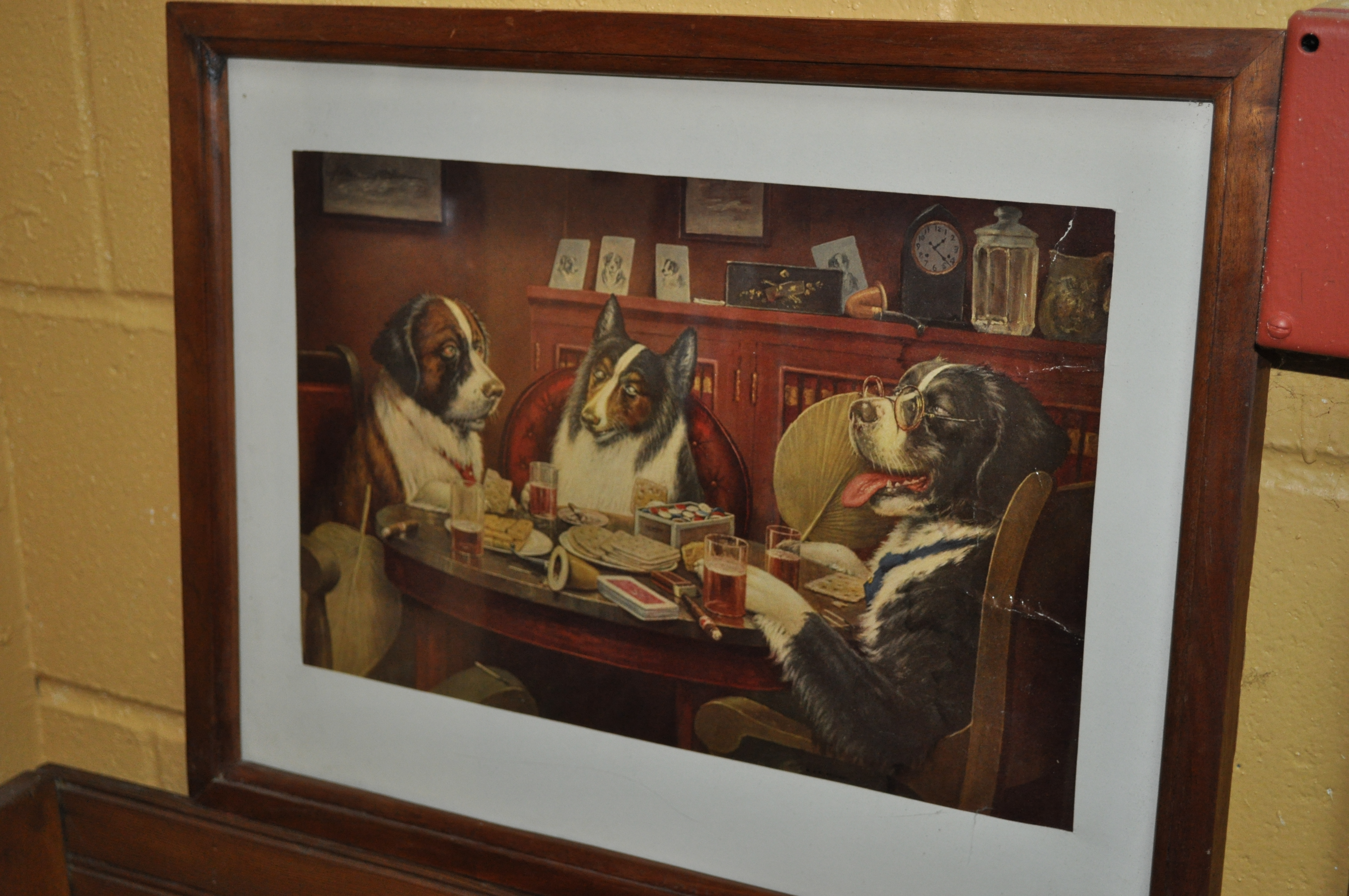 Dog Poker Painting